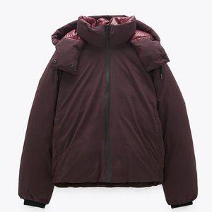 🔥MOVING SALE🔥NEW ZARA DOWN COAT Puffy Jacket XS